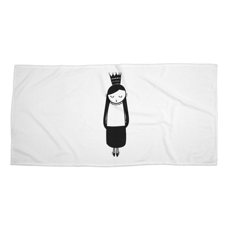 Little girl Accessories Beach Towel by coclodesign's Artist Shop