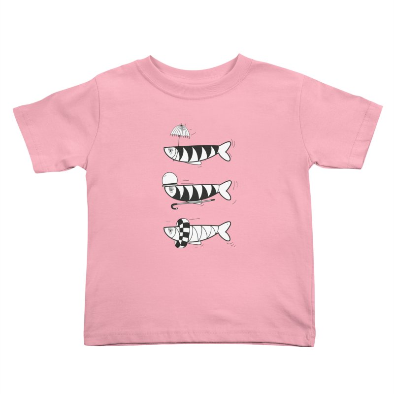 Fishes Kids Toddler T-Shirt by coclodesign's Artist Shop