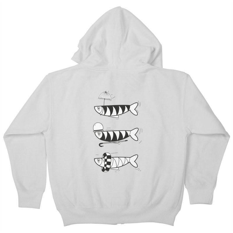 Fishes Kids Zip-Up Hoody by coclodesign's Artist Shop