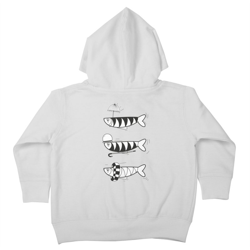 Fishes Kids Toddler Zip-Up Hoody by coclodesign's Artist Shop
