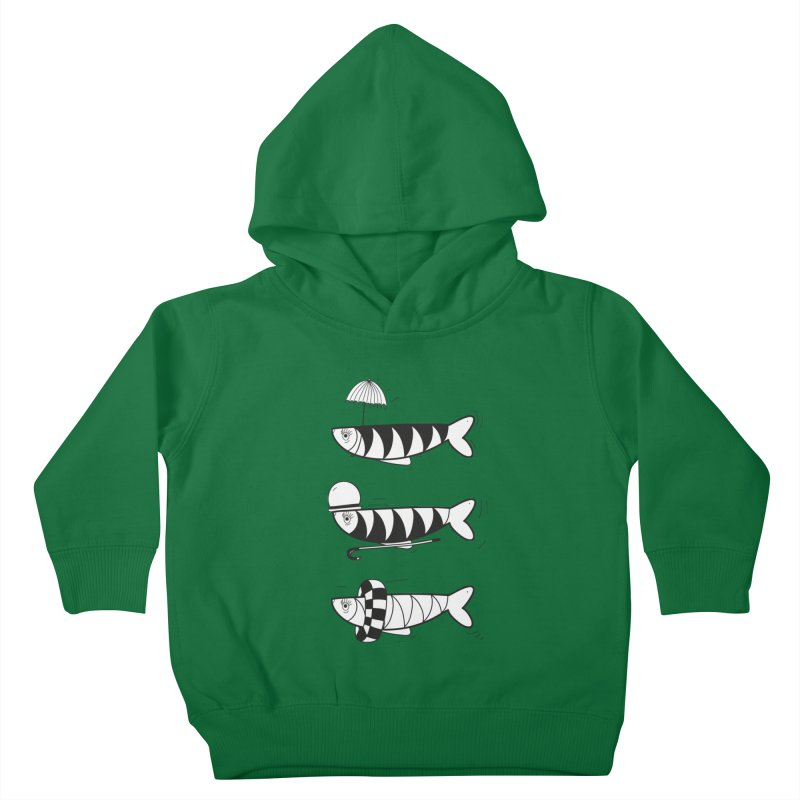 Fishes Kids Toddler Pullover Hoody by coclodesign's Artist Shop