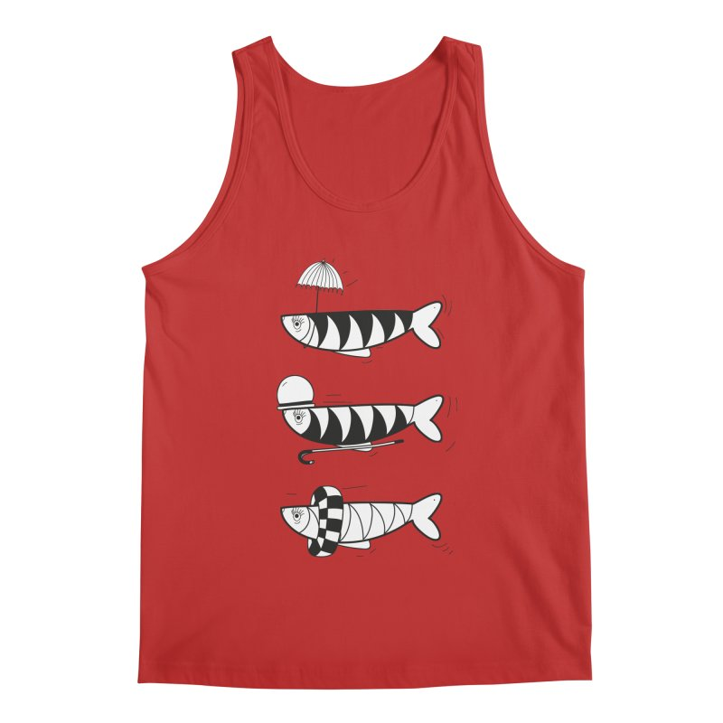 Fishes Men's Regular Tank by coclodesign's Artist Shop