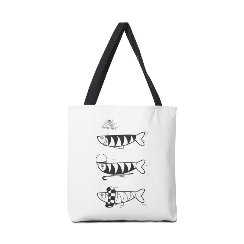Fishes Accessories Tote Bag Bag by coclodesign's Artist Shop