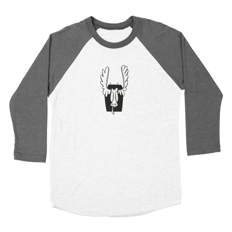 Moose Women's Longsleeve T-Shirt by coclodesign's Artist Shop