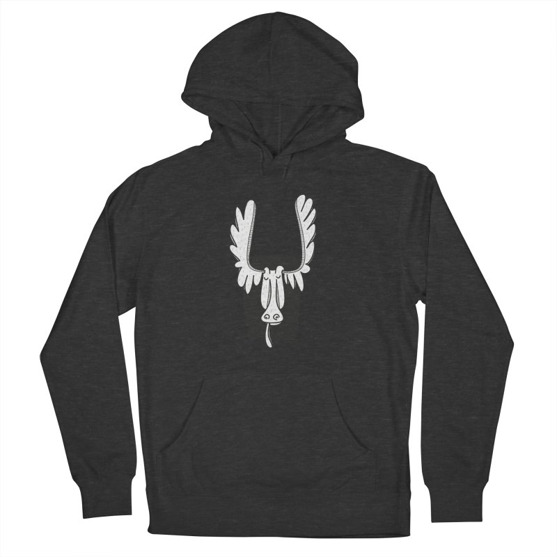 Moose Women's Pullover Hoody by coclodesign's Artist Shop