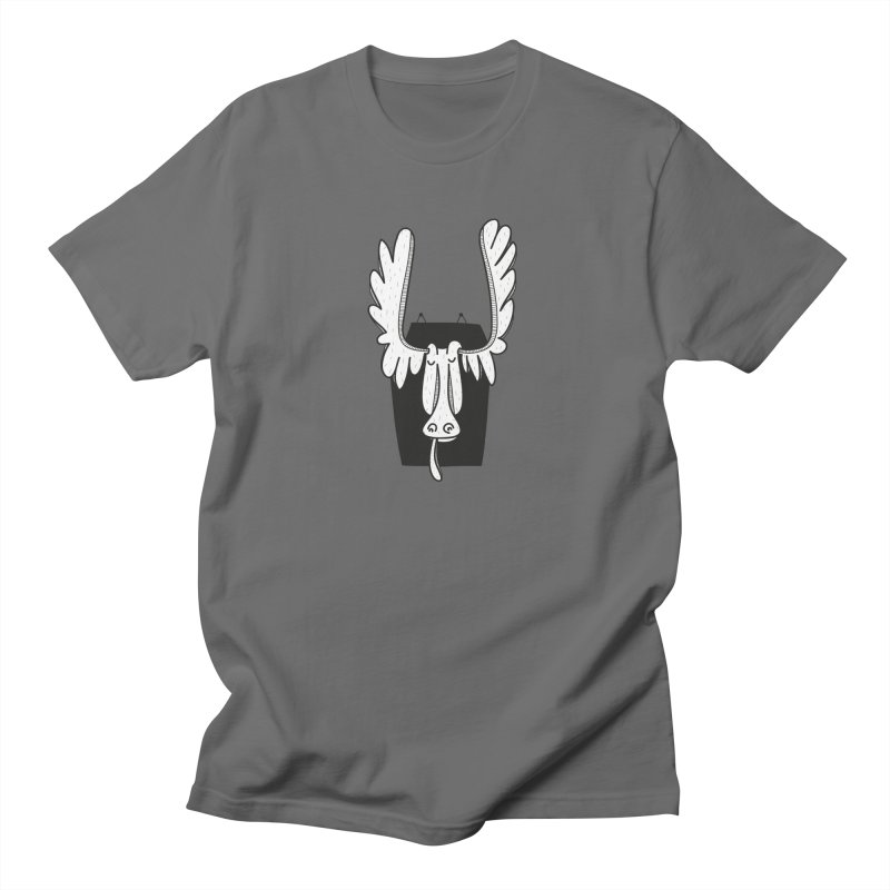 Moose Men's T-Shirt by coclodesign's Artist Shop
