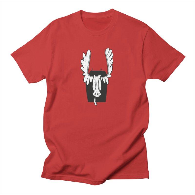 Moose Women's Unisex T-Shirt by coclodesign's Artist Shop