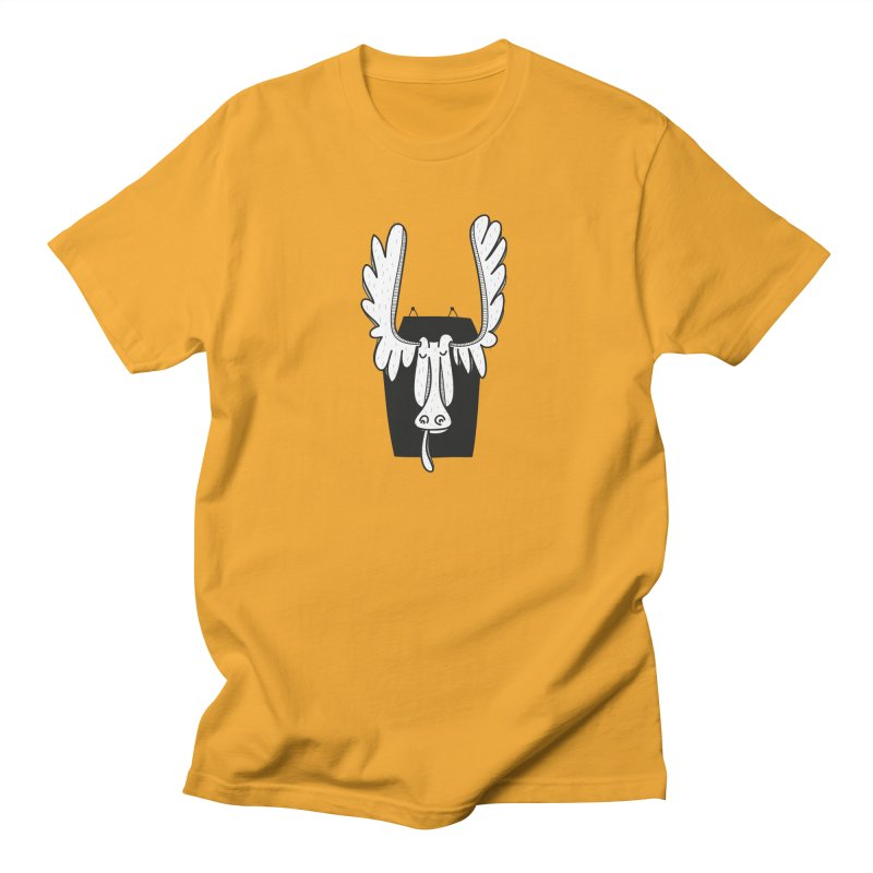Moose Women's Unisex T-Shirt by coclodesign's Artist Shop