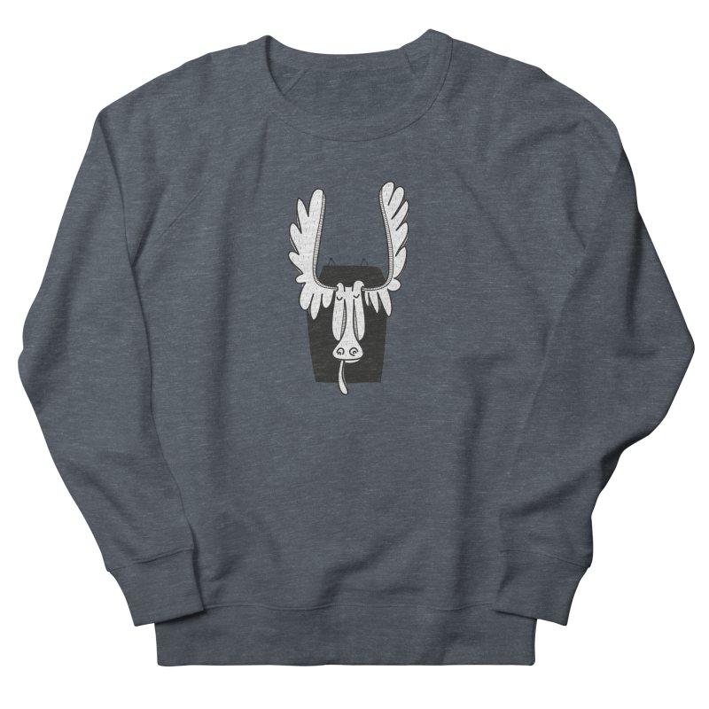 Moose Men's Sweatshirt by coclodesign's Artist Shop