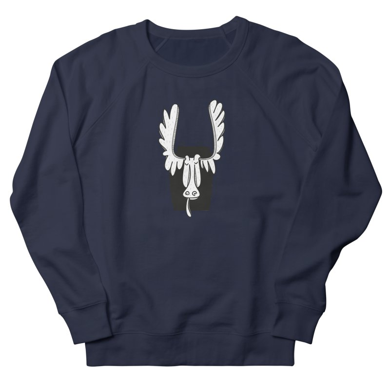 Moose Men's Sweatshirt by coclodesign's Artist Shop