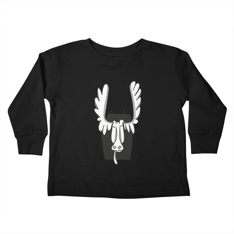 Moose Kids Toddler Longsleeve T-Shirt by coclodesign's Artist Shop
