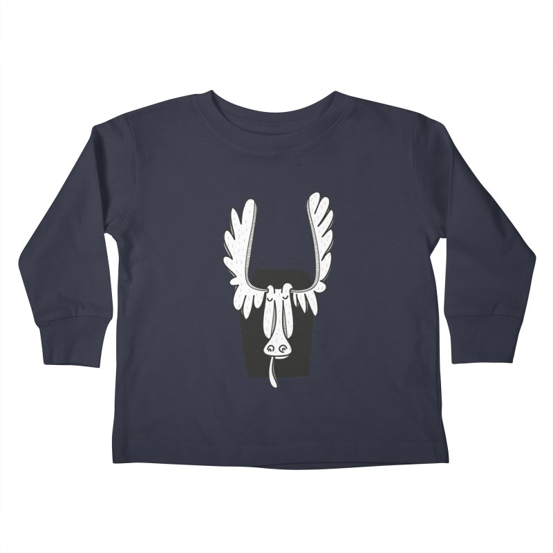 Moose Kids Toddler Longsleeve T-Shirt by coclodesign's Artist Shop