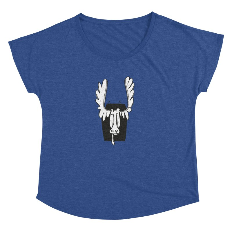 Moose Women's Dolman by coclodesign's Artist Shop