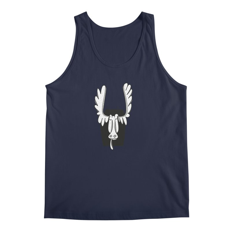 Moose Men's Tank by coclodesign's Artist Shop