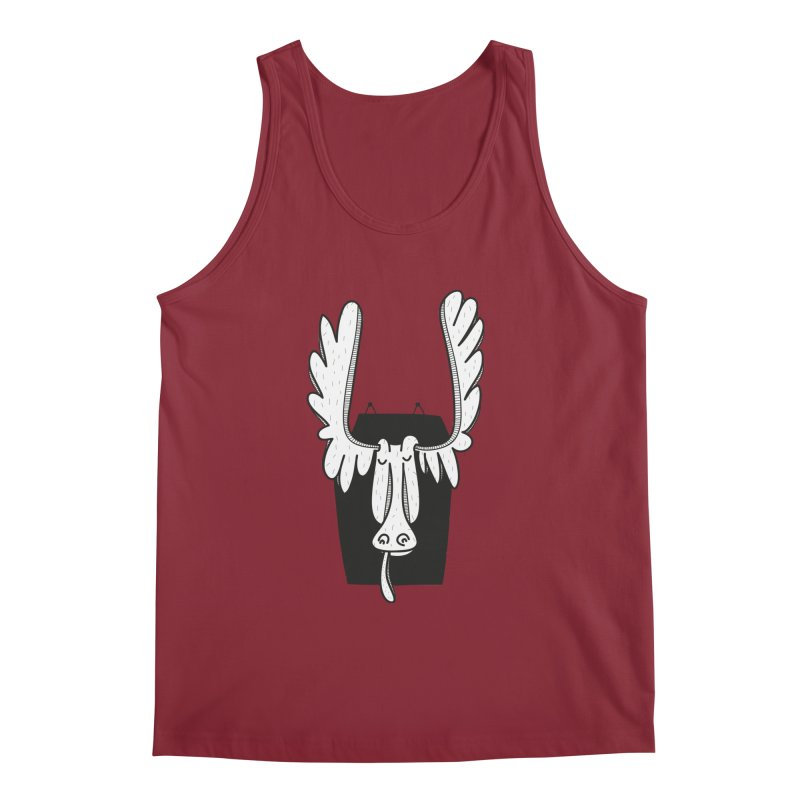 Moose Men's Regular Tank by coclodesign's Artist Shop