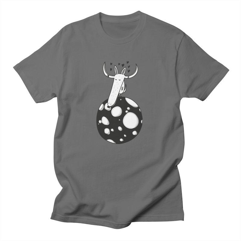 Moon Men's T-Shirt by coclodesign's Artist Shop