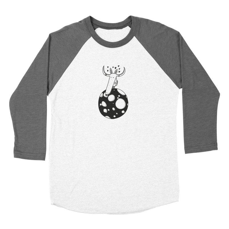 Moon Women's Longsleeve T-Shirt by coclodesign's Artist Shop