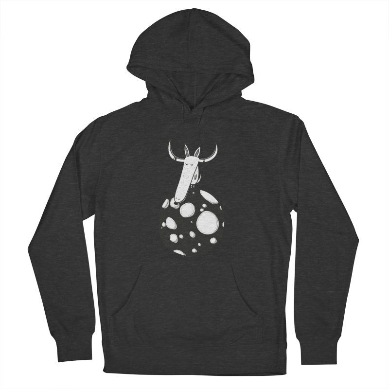 Moon Men's French Terry Pullover Hoody by coclodesign's Artist Shop
