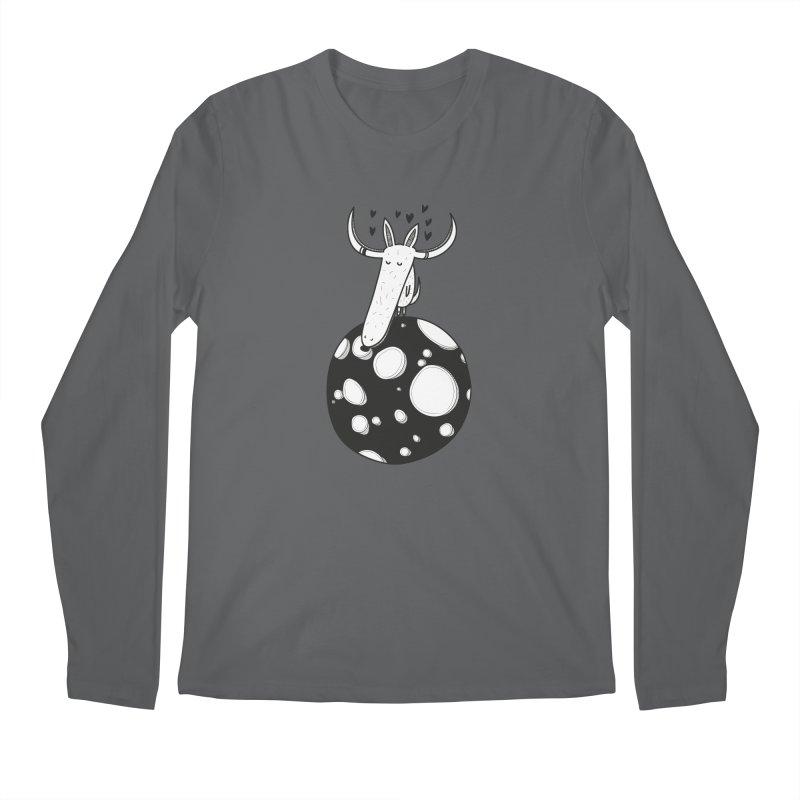 Moon Men's Longsleeve T-Shirt by coclodesign's Artist Shop