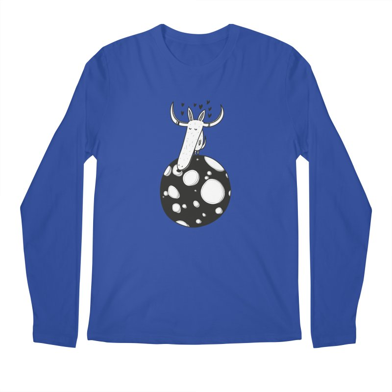 Moon Men's Regular Longsleeve T-Shirt by coclodesign's Artist Shop