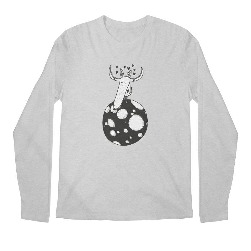 Moon Men's Longsleeve T-Shirt by coclodesign's Artist Shop