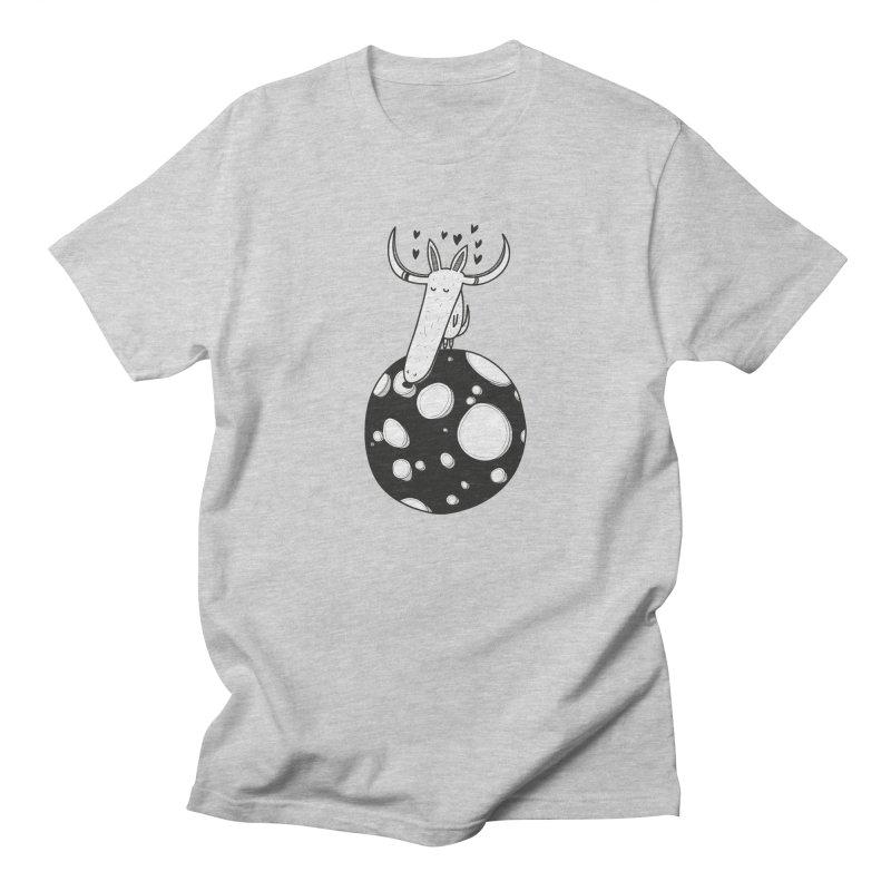 Moon Women's Regular Unisex T-Shirt by coclodesign's Artist Shop