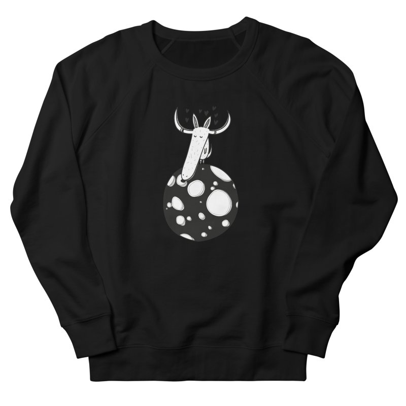 Moon Men's French Terry Sweatshirt by coclodesign's Artist Shop