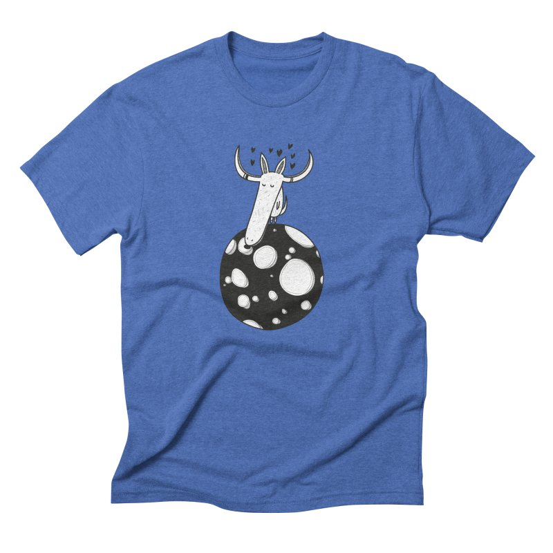 Moon Men's Triblend T-Shirt by coclodesign's Artist Shop