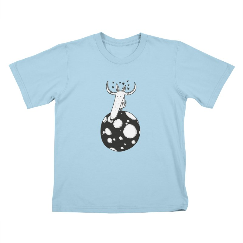 Moon Kids T-Shirt by coclodesign's Artist Shop