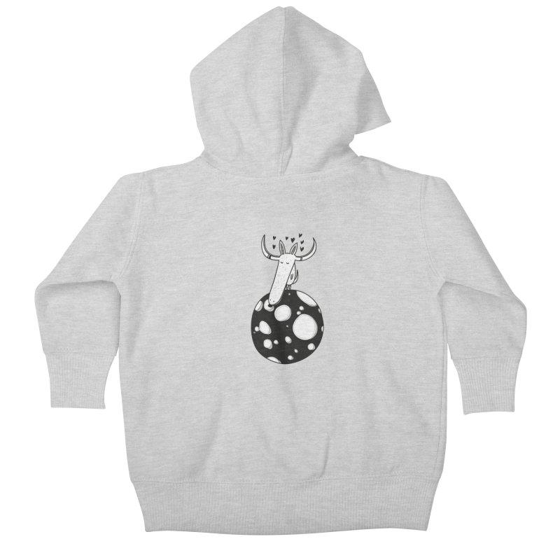 Moon Kids Baby Zip-Up Hoody by coclodesign's Artist Shop