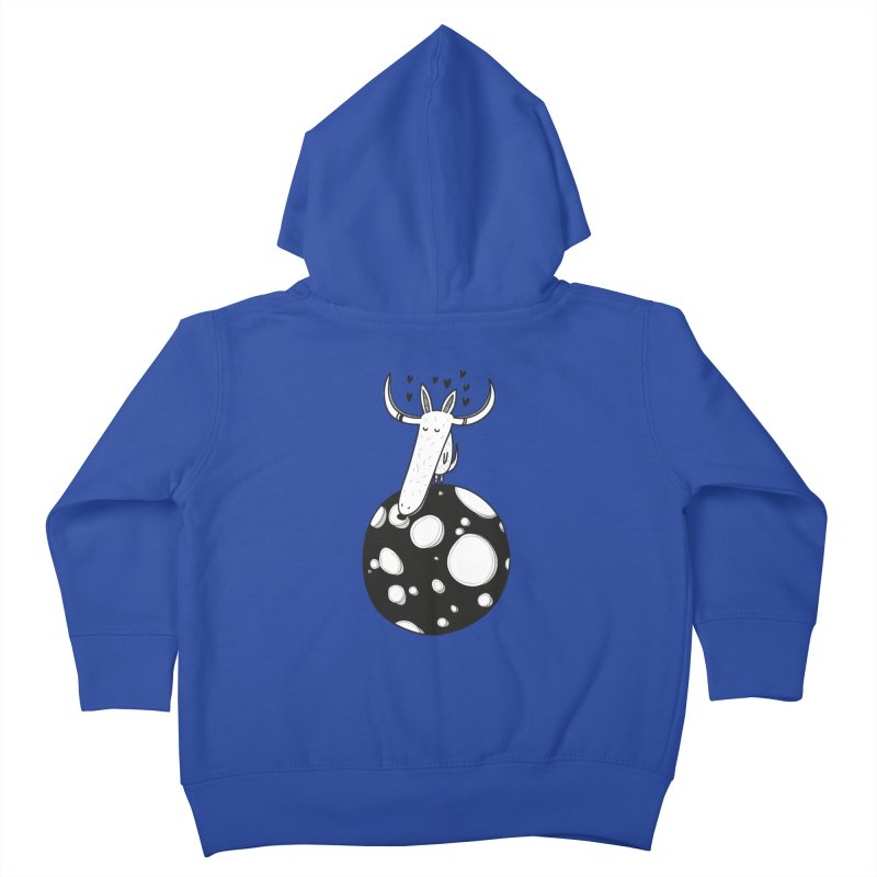 Moon Kids Toddler Zip-Up Hoody by coclodesign's Artist Shop