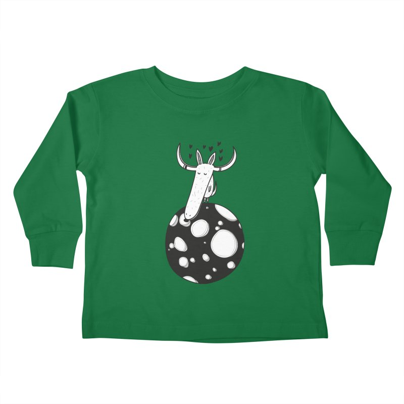 Moon Kids Toddler Longsleeve T-Shirt by coclodesign's Artist Shop