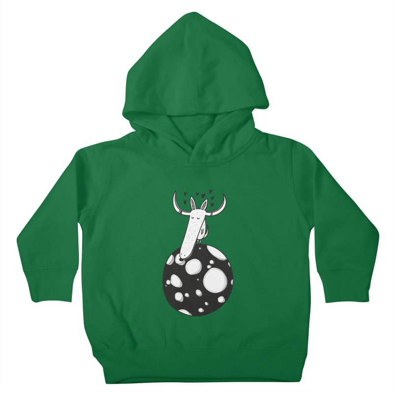 Moon Kids Toddler Pullover Hoody by coclodesign's Artist Shop