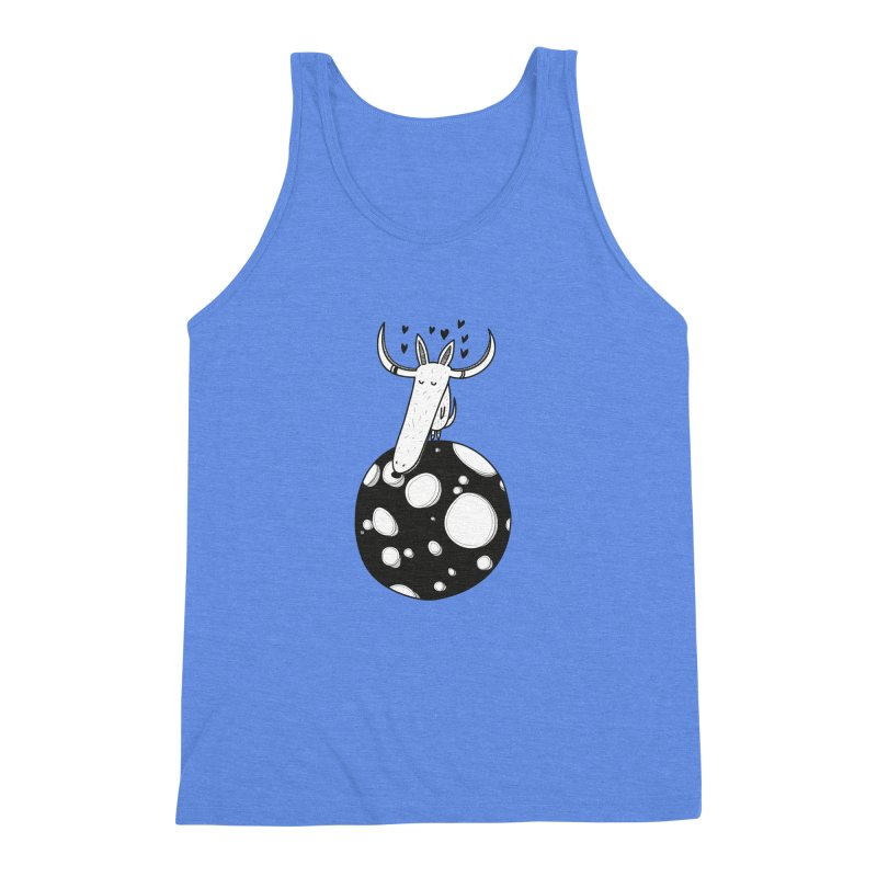 Moon Men's Triblend Tank by coclodesign's Artist Shop