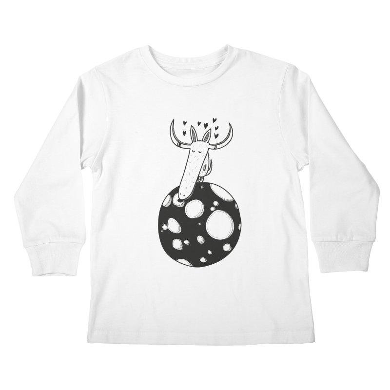 Moon Kids Longsleeve T-Shirt by coclodesign's Artist Shop