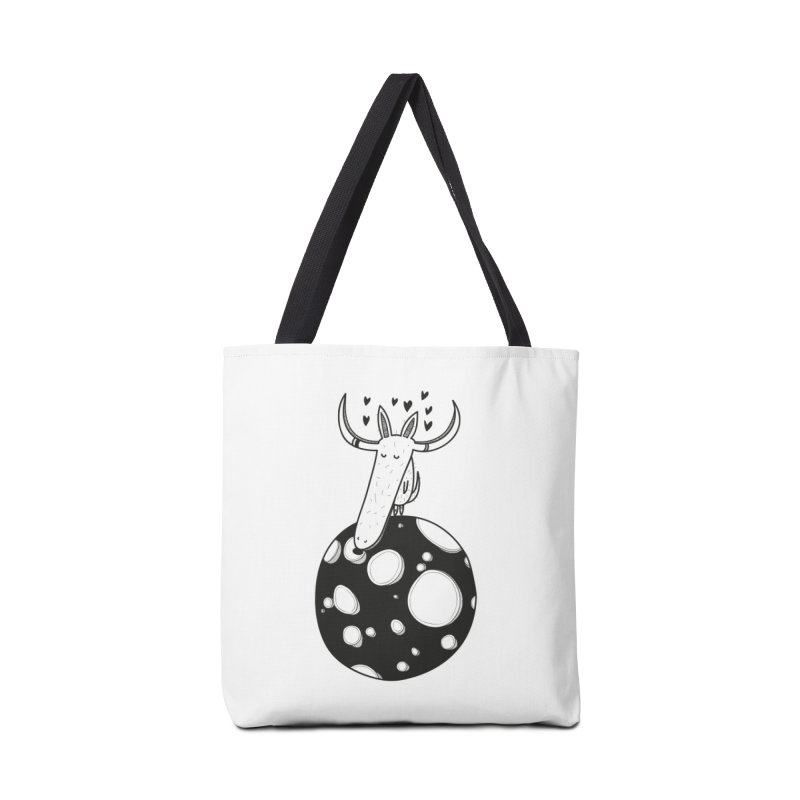 Moon Accessories Tote Bag Bag by coclodesign's Artist Shop