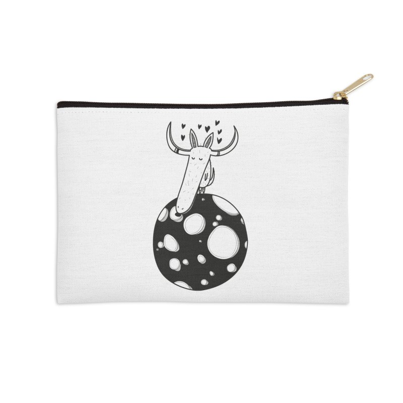 Moon Accessories Zip Pouch by coclodesign's Artist Shop