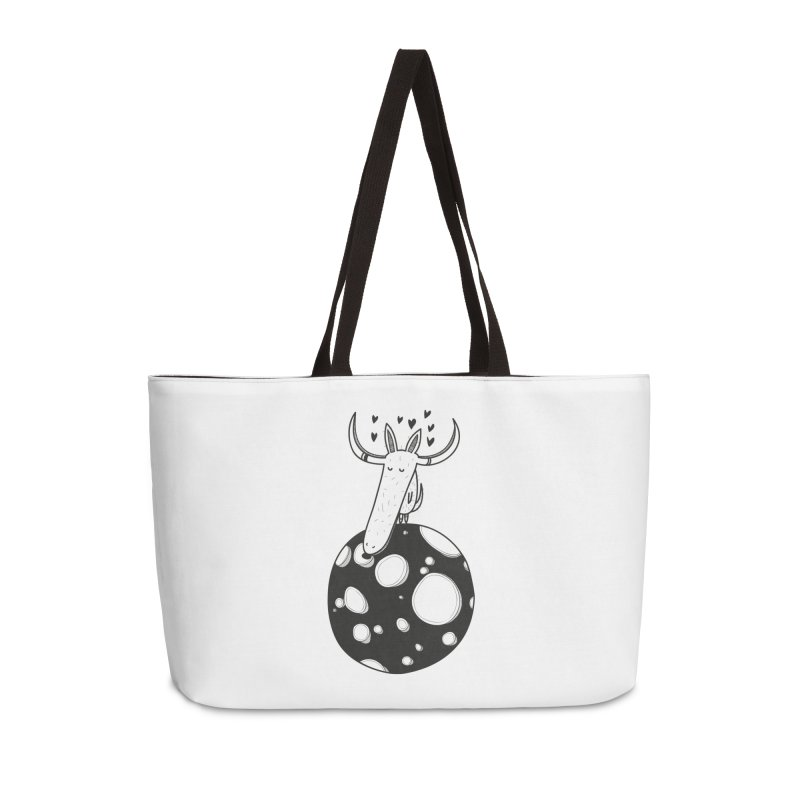 Moon Accessories Weekender Bag Bag by coclodesign's Artist Shop