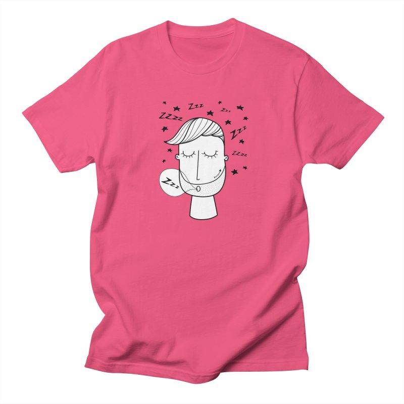 Zzzzz zzzz Men's T-Shirt by coclodesign's Artist Shop