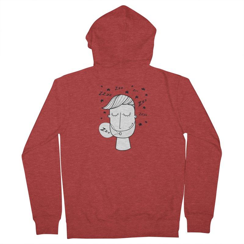 Zzzzz zzzz Men's Zip-Up Hoody by coclodesign's Artist Shop