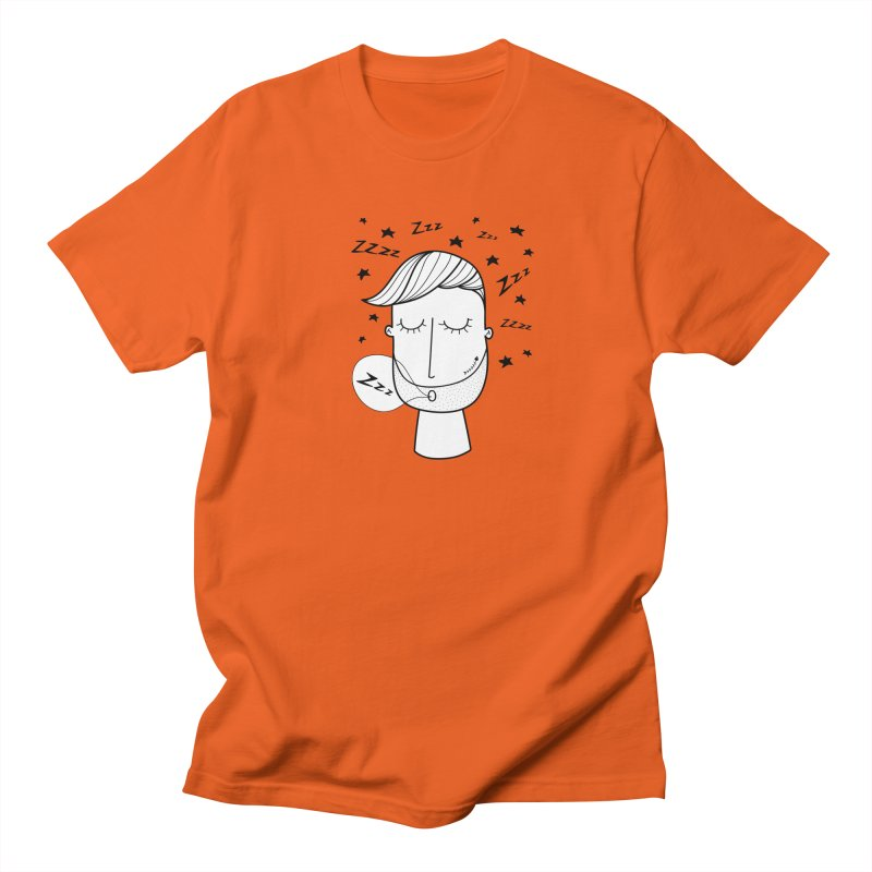 Zzzzz zzzz Men's Regular T-Shirt by coclodesign's Artist Shop
