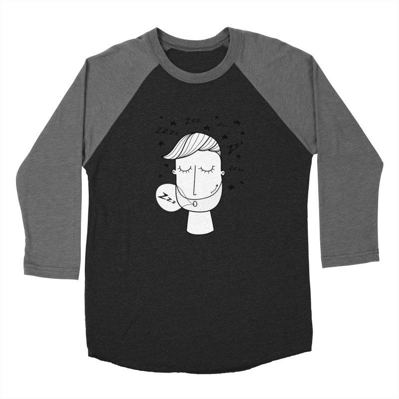 Zzzzz zzzz Men's Baseball Triblend Longsleeve T-Shirt by coclodesign's Artist Shop
