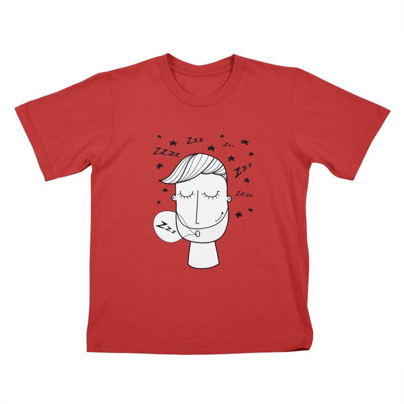 Zzzzz zzzz Kids T-Shirt by coclodesign's Artist Shop