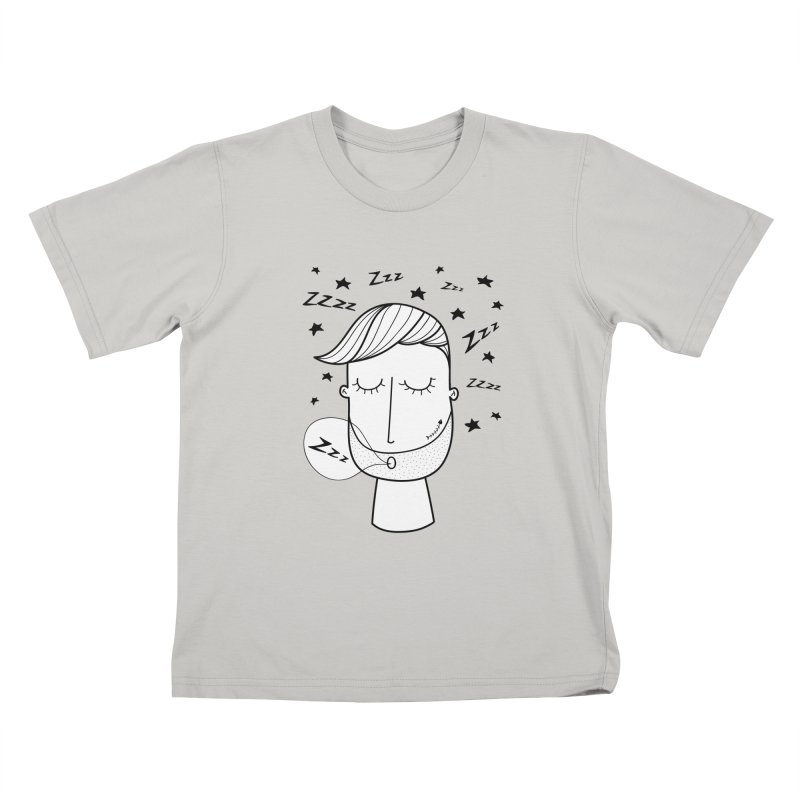 Zzzzz zzzz Kids T-shirt by coclodesign's Artist Shop