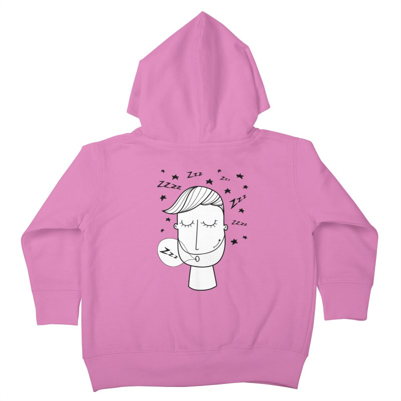 Zzzzz zzzz Kids Toddler Zip-Up Hoody by coclodesign's Artist Shop