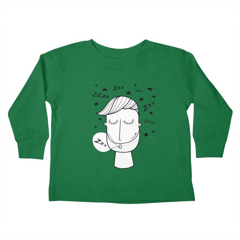 Zzzzz zzzz Kids Toddler Longsleeve T-Shirt by coclodesign's Artist Shop
