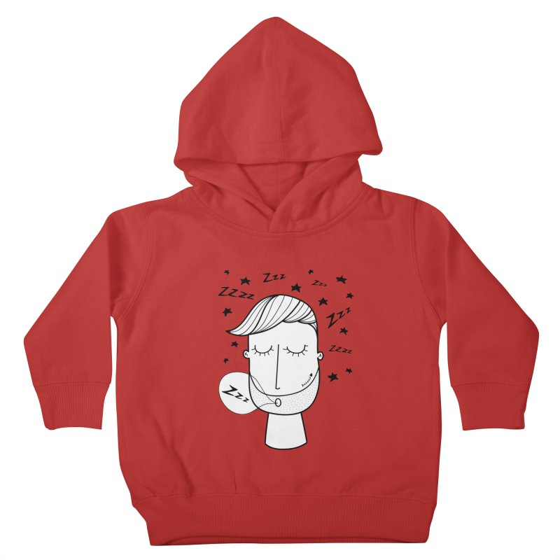 Zzzzz zzzz Kids Toddler Pullover Hoody by coclodesign's Artist Shop