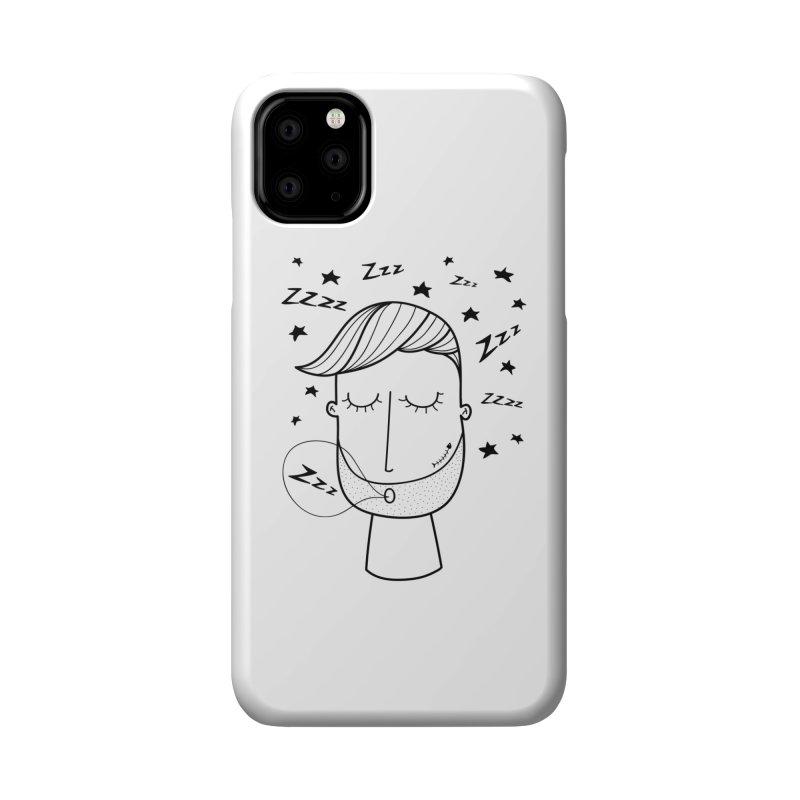 Zzzzz zzzz Accessories Phone Case by coclodesign's Artist Shop