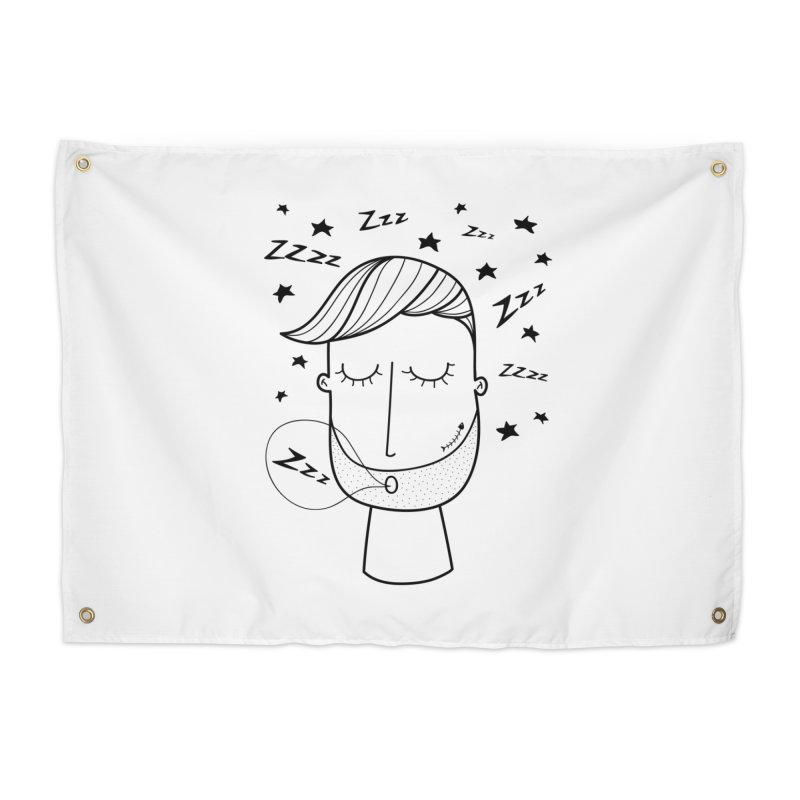Zzzzz zzzz Home Tapestry by coclodesign's Artist Shop