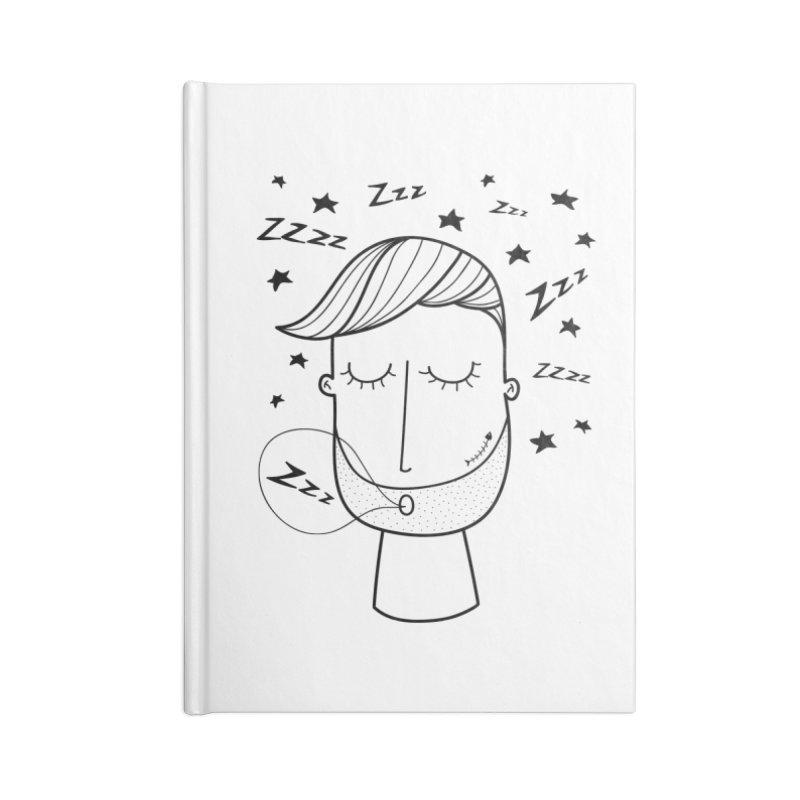 Zzzzz zzzz Accessories Notebook by coclodesign's Artist Shop